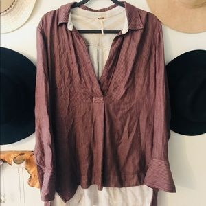 Free People Oversized Blouse